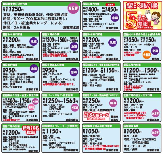株式会社キャリアバンク工場内作業〔高時給〕画像