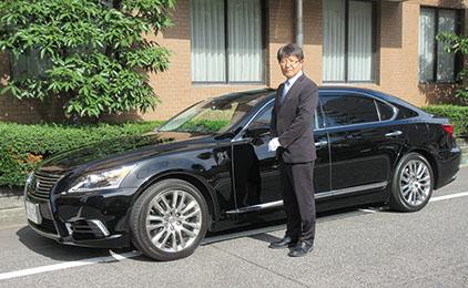 岡山タクシー株式会社(両備グループ)地元銀行役員車ドライバー画像
