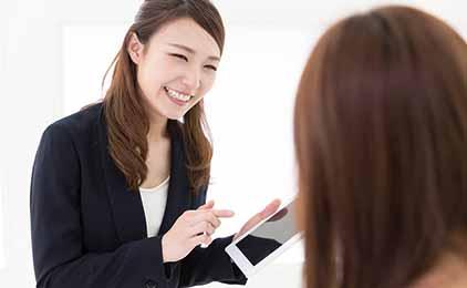 株式会社バックスグループノルマなしのスマホショップ接客・案内業務画像