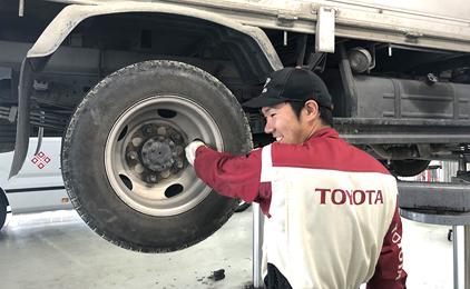 高知トヨタ自動車株式会社サービスエンジニアスタッフ〔自動車の点検・整備など〕画像