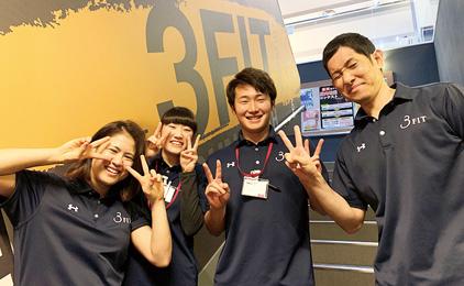 イオンスポーツクラブ3FIT イオンモール高知店フロント〔受付、電話応対など〕画像