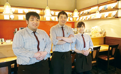 中国テレホン株式会社 十三軒茶屋 飲食部週2〜のカフェスタッフ画像