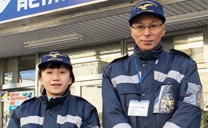 株式会社Vシステム 警備事業部男女施設警備員画像
