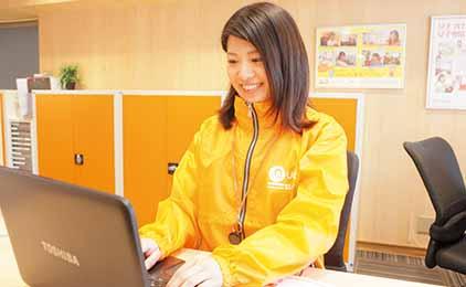 株式会社ジェイ・エス・ビー・ネットワーク UniLife岡山駅西口店一般事務画像