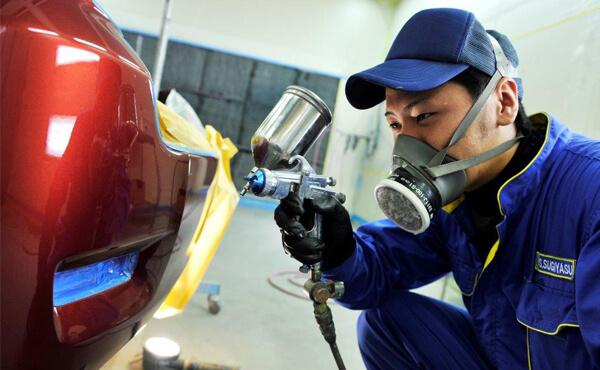 株式会社北関東クリーン社 広島支店車の軽板金塗装画像