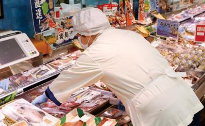 山陽マルナカチボリ店水産担当〔お魚屋さんのお寿司コーナー〕画像