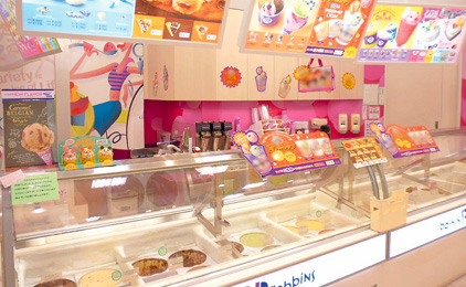 サーティワンアイスクリーム(株式会社マックアースフーズ)販売スタッフ〔未経験者歓迎〕画像