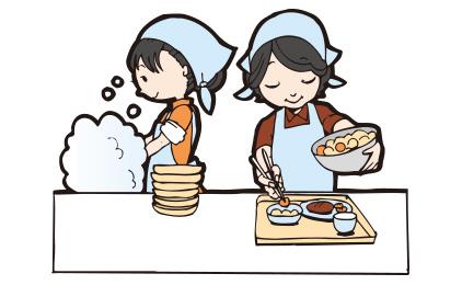 株式会社ECクリエート食堂スタッフ〔キッチン業務〕画像