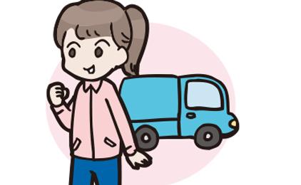 株式会社アリスジャパンお弁当の配達画像