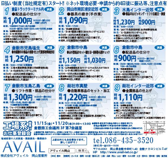 株式会社アヴェイル岡山営業所自動車部品のセット・加工画像
