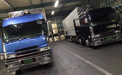 株式会社NHコーポレーション大型トラックドライバー〔大型冷凍車、ウイング車〕画像