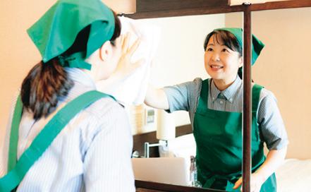 ホテルルートイン 阿南ホテルの客室清掃〔週3日〜OK〕画像