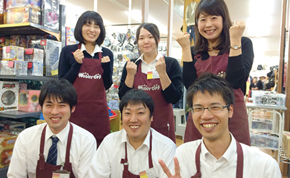 Hobby OFF 松山駅前店店内スタッフ〔学生歓迎〕画像