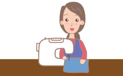 マジックミシン イオンモール鹿児島店接客・縫製スタッフ〔勤務時間相談OK〕画像