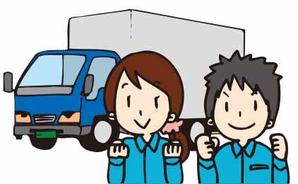 株式会社国商運輸 岡山営業所10t大型ドライバー〔カゴ車〕画像