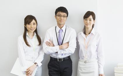 しごと計画学校 広島校ショールームでの販売・接客画像