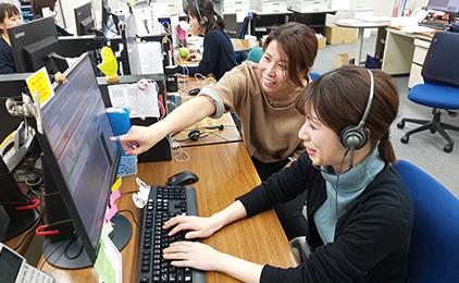 株式会社アスティスコールセンターでの電話受注業務画像