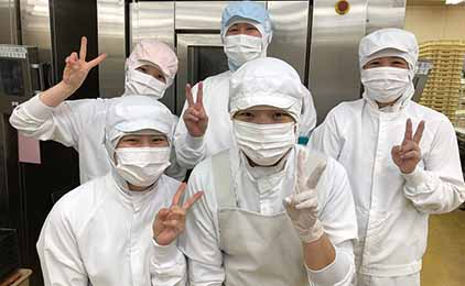竹久夢二本舗敷島堂株式会社和菓子の製造〔希望日に休みがとれる〕画像