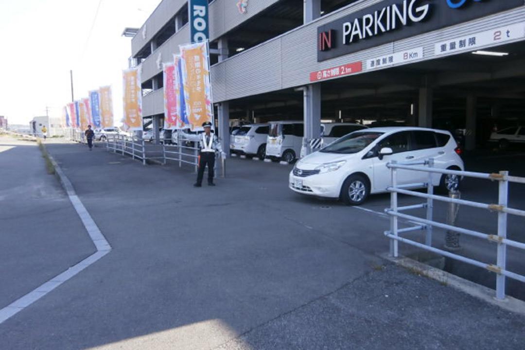 旭警備保障株式会社道路工事・駐車場・各種イベント警備画像