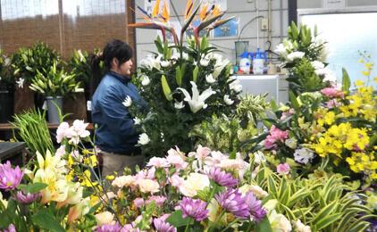 羽ノ浦生花 川内店(合同会社Flower KAZU)お花のスタッフ〔高時給〕画像