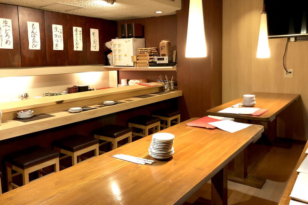 潮亭(うしおてい)調理補助〔居酒屋〕画像