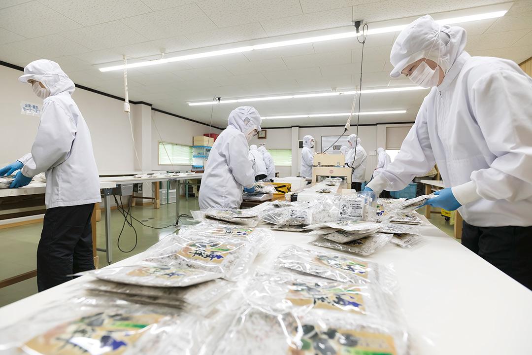 総合食品卸 有限会社翁堂食品製造パート〔ふりかけ等の製造〕画像