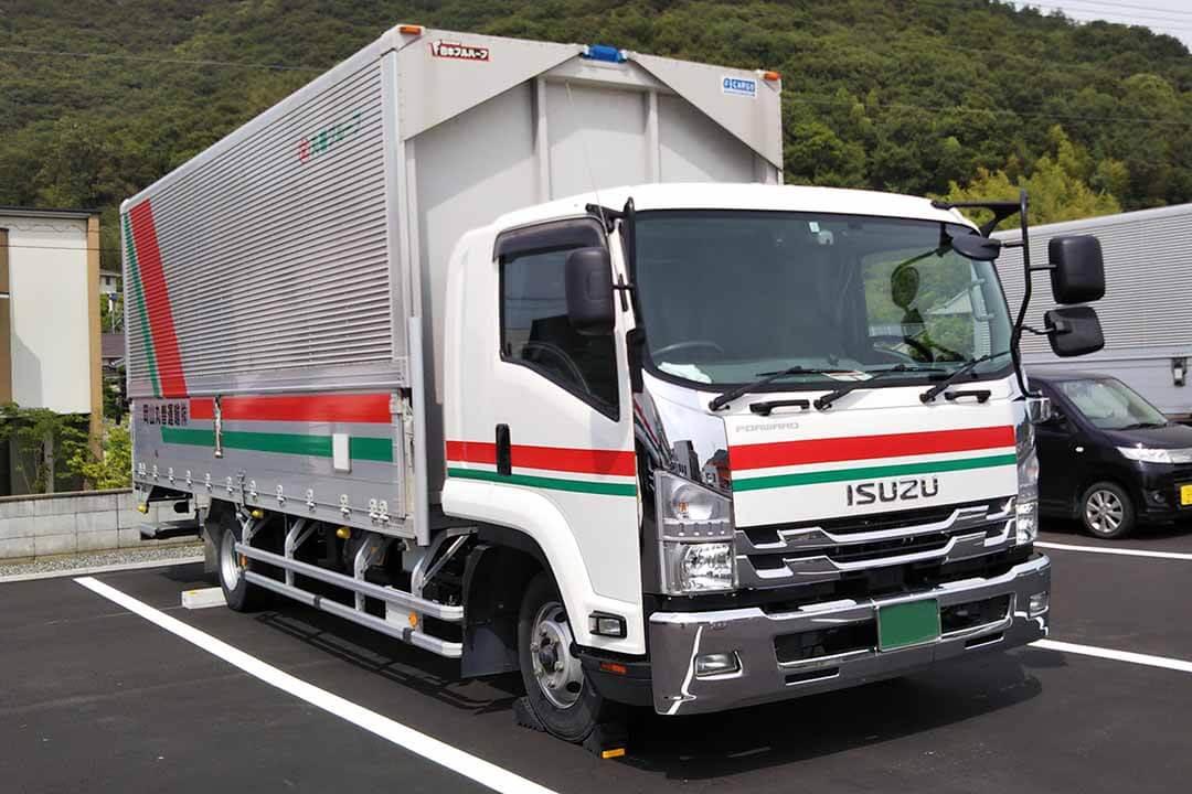 岡山丸善運輸株式会社4tドライバー〔賞与有〕画像