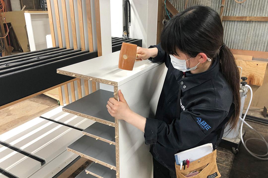 有限会社阿部木工家具組み立てスタッフ画像