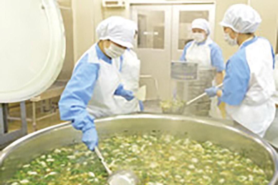 一冨士フードサービス株式会社寮施設での栄養士画像