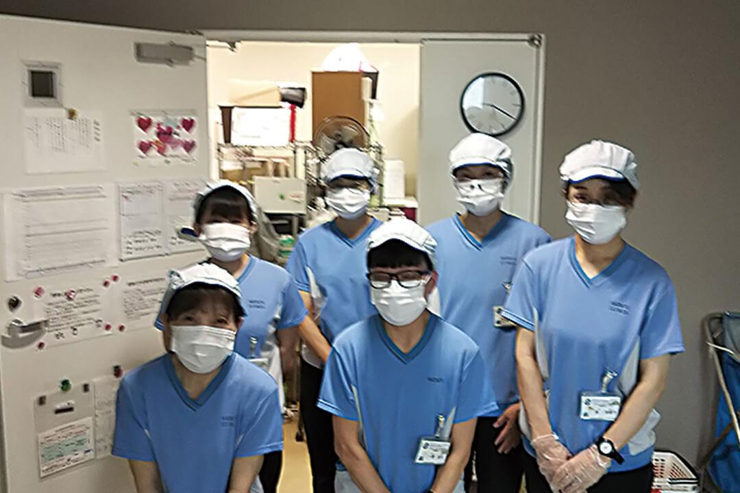 ワタキューセイモア株式会社四国支店病院内のクリーンスタッフ〔安定シフト〕画像