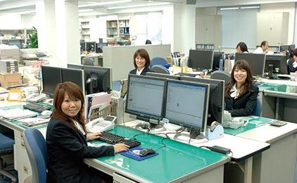 株式会社データシステム 倉敷支社営業事務〔土日祝休み〕画像