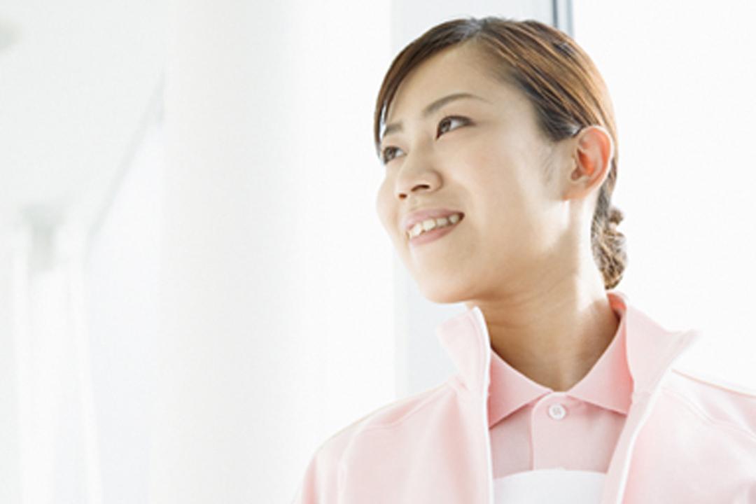 しごと計画学校 岡山校診療所一体型のサービス付高齢者住宅での介護職画像