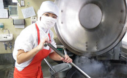しごと計画学校 岡山校献立作成業務無しの学校給食での栄養士画像