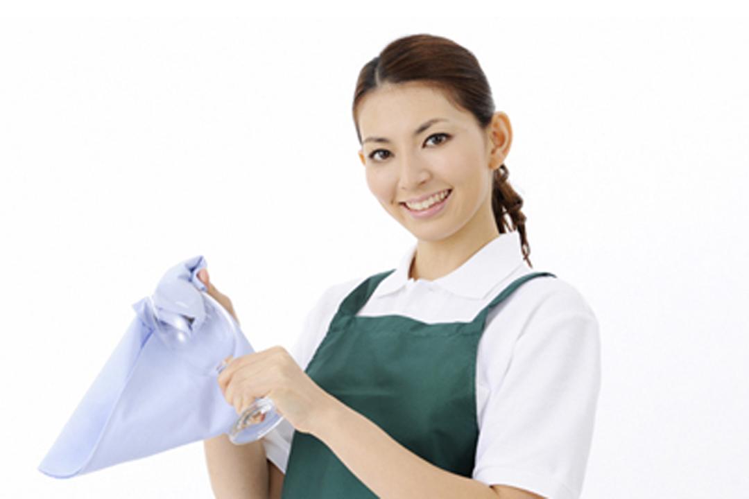 しごと計画学校 岡山校清掃スタッフ(ワックスがけ、ガラスクリーニング)画像