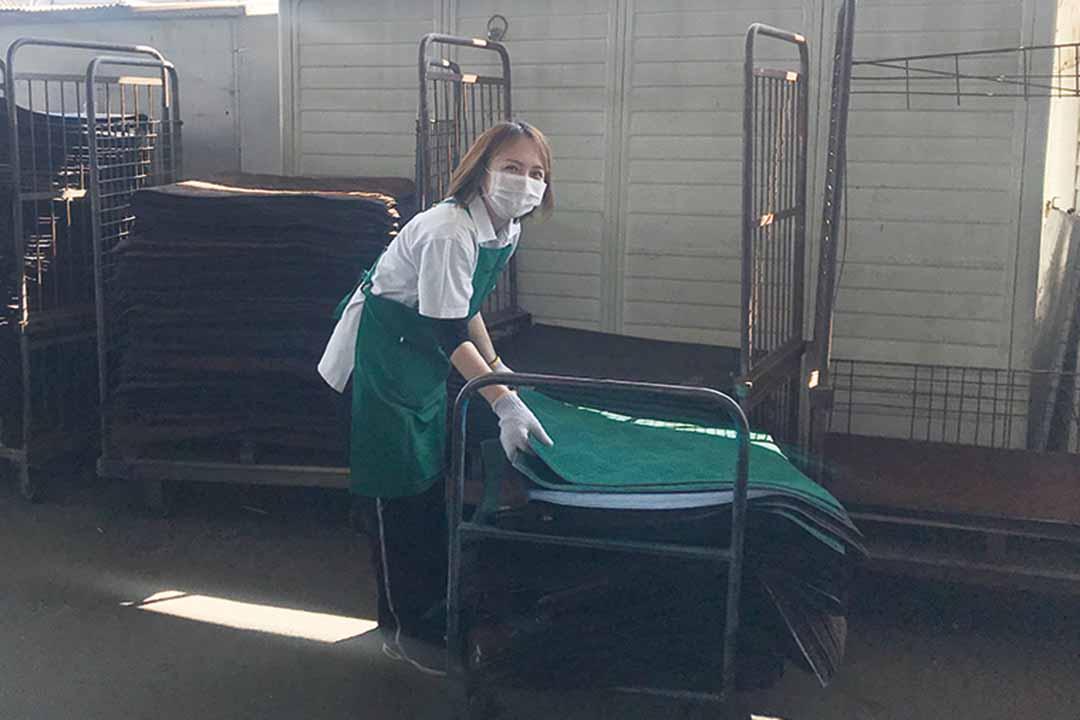 株式会社サニクリーン山陽仕分け・出荷作業スタッフ画像